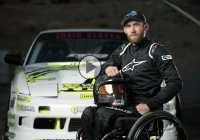 This inspirational wheelchair bound drifter proves that drifting is a matter of wanting!
