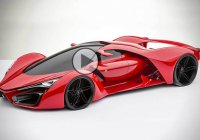 Adriano Raeli's Ferrari F80 concept: The Enzo of the future
