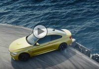 BMW M4 In Action On The Ultimate Race Track – An Aircraft Carrier!