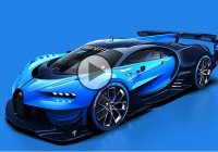 Bugatti Unveils the Design for the Virtual Video Game Car To Be Featured in 'Gran Turismo' Video Game