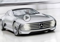 Mercedes' Concept IAA is the Shape Shifting 4-door Coupe CLS of Tomorrow!