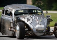1964 Volkswagen Beetle with a Continental O-470 airplane engine!!!