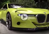 BMW 3.0 CSL Hommage Concept, start up and first drive!