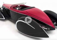 """Bugnaughty"", rare Delahaye creation inspired by Auburn and Bugatti!"