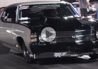 This Procharged 1971 Chevelle SS on radials is one insane ride!