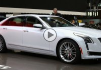 The 2016 Cadillac CT6 sedan, worth every one of the $70.000!!!