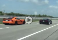 Dodge Viper SRT vs. Chevy Corvette C6 Z06 with NOS! Who will win this?