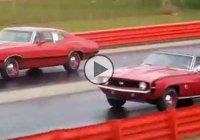 Pure Stock Muscle Car Drags 2014!