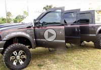 Custom Ford F250 Harley Davidson Truck with 6 doors!!