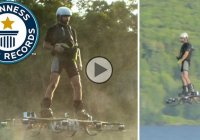 World Record for farthest distance traveled with a hoverboard!