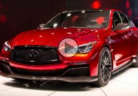 GTR engine inside of Infiniti Q50 Concept, 560hp Sedan!!