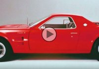 The Ford Mustang Mach 2, the mid-engined pony car that almost was!