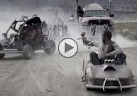 Mad Max Fury Road themed GoKart Paintball War in 4K!!!