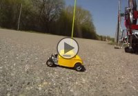 The smallest nitro powered RC Hot Rod is 6 inches long!