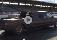 This Chevy S10 Truck with Twin Turbo Mid Engine is Brutal!