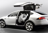 The 2015 Tesla Model X, company's first crossover coming September 29th!