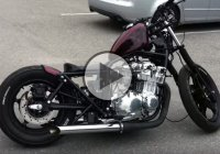 Modified Suzuki GS 750 Bobber – Stunning Looks And Amazing Sound!