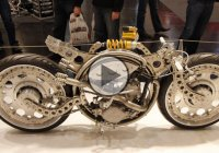 Extended Look At Rafik Kaissi's Extreme Custom Motorcycles!