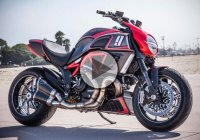 Roland Sands Design Unique Take On The Ducati Diavel KH9!