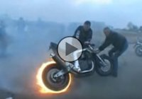 Motorrad's Badass FireBurnout – This Is How It's Done!