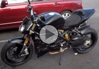 Customized Clean And Mean Ducati Street Fighter 848 2013!