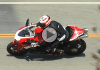 Ducati 848 Rider Crashes In The Most Idiotic Way – No Mercy For Lane Crossers!!!