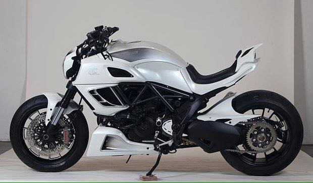 Customized Ducati Diavel By Llc