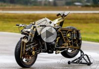 Extreme Looking Motorcycle – The Mortagua Fighter!!