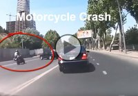 Horrific Motorcycle Crash – What Was The Car Driver Thinking??