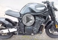 Modified Suzuki Bandit 1200 Streetfighter With A Shortened Frame And Single Seat!