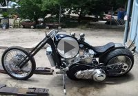 Sidewinder Chopper With A V8 Powerplant!