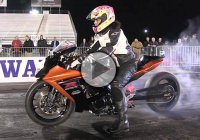 Stunning Female Motorcycle Drag Racer, Tiffany Butler – Gone In 8 Seconds!