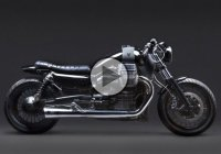 Venier Customs Transforms Moto Guzzi California Into A 1400cc C2 Café Racer!