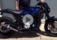 BadAss Custom 1989 Yamaha FJ1200 Brawler Build by Bare Bone Rides!