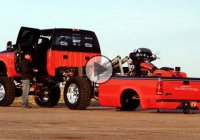 Harley Davidson Truck – Cool way to load you Harley Bike!!!