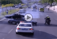 Honda S2000 is drifting right in the face of Turkish police!