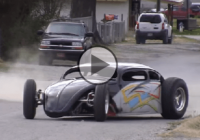 Crazy VW Bug Hot Rod powered by a GSXR: Because not all hot rods have to be V8s!