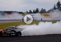 Extreme drifting with a 750 HP Toyota GT 86 at Gatebil Rudskogen!