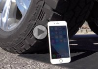 Can the iPhone 6S survive being run over by Ford F-150 pickup truck?