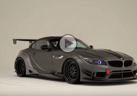 The best of the best: Amazing VRS BMW Z4 widebody kit – Anniversary edition!