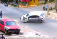 See Why Drifting Over A Speed Bump Is A Horrible Idea