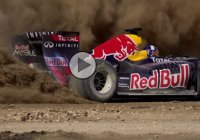 Have you ever seen an F1 in an off-road action?