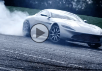 Watch Bond's Latest Aston Martin DB10 Burning Rubber