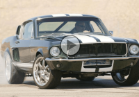 Tokio Drift's crazy Skyline-powered 1967 Ford Mustang roaring like crazy!