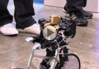 That moment when a robot is cycling like a human! PRIMER-V2 is the coolest robot ever!