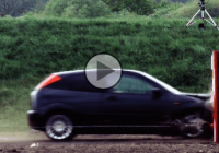 The fastest car crash test ever conducted: Crashing at a speed of 120 mph!