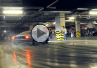 Cool Underground Drift Party in Astana!!!
