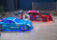 The Ultimate RC lovers paradise: Epic dark night drifting fun!