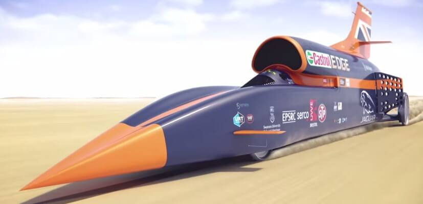 image of the bloodhound SSC