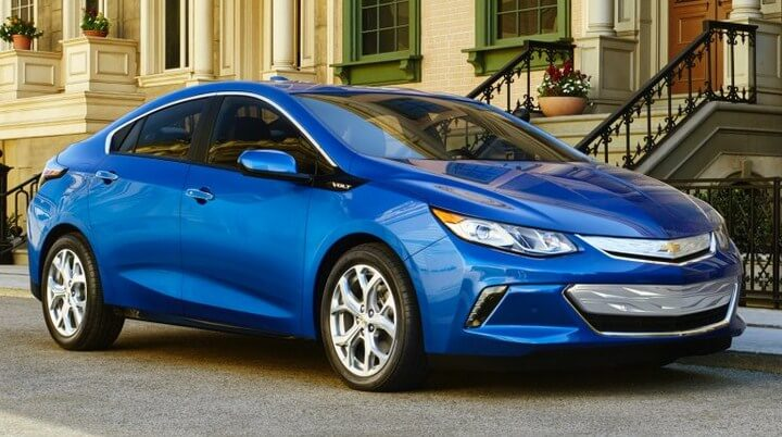 image of the 2016 Chevy Volt